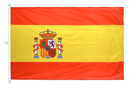 Spain with crest - Flag PRO 200 x 300 cm