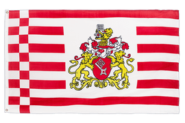 Bremen with crest - 3x5 ft Flag
