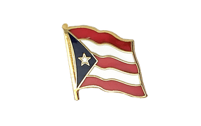 Puerto Rico - Flag Lapel Pin
