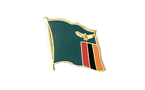 Zambia - Flag Lapel Pin