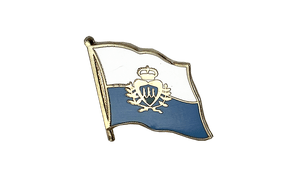 San Marino - Flag Lapel Pin