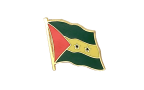 Sao Tome and Principe - Flag Lapel Pin
