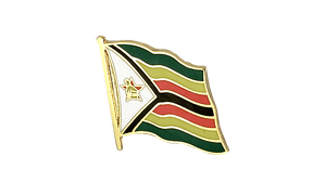 Zimbabwe - Flag Lapel Pin