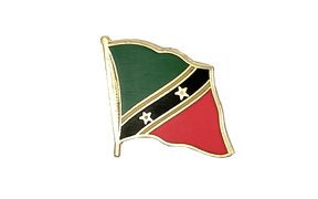Saint Kitts and Nevis - Flag Lapel Pin