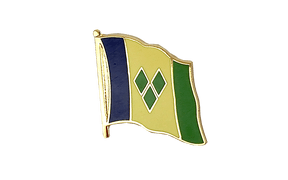 Saint Vincent and the Grenadines - Flag Lapel Pin