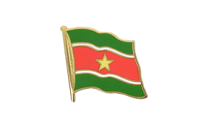 Suriname - Flag Lapel Pin