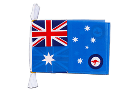 Australien Royal Australian Air Force RAAF - Fahnenkette 15 x 22 cm, 3 m