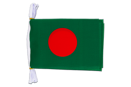 "Bangladesh - Mini Flag Bunting 6x9"", 3 m"