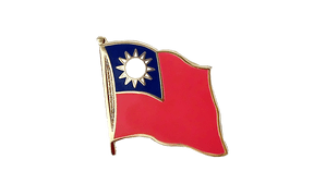 Taiwan - Flag Lapel Pin