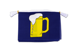 "Beer - Mini Flag Bunting 6x9"", 3 m"