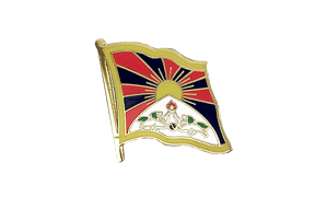 Tibet - Flag Lapel Pin