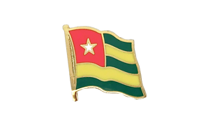 Togo - Flag Lapel Pin