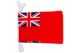 "Great Britain Red Ensign - Mini Flag Bunting 6x9"", 3 m"
