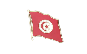 Flag Lapel Pin Tunisia