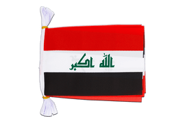 "Iraq 2009 - Mini Flag Bunting 6x9"", 3 m"