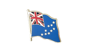Tuvalu - Flag Lapel Pin