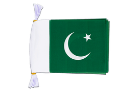 "Pakistan - Mini Flag Bunting 6x9"", 3 m"