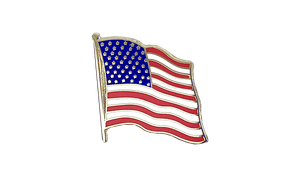 USA - Flag Lapel Pin