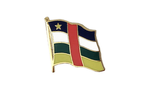 Central African Republic - Flag Lapel Pin