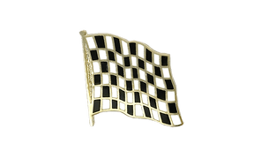 Checkered - Flag Lapel Pin