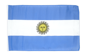 Small Flag Argentina - 12x18""