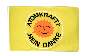 Buy Atomkraft Nein Danke - 12x18 in Flag