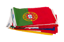 World Cup Soccer 2018 - Small Flag Pack 12x18""