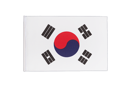 South Korea - Little Flag 6x9""