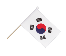 South Korea - Hand Waving Flag 6x9""