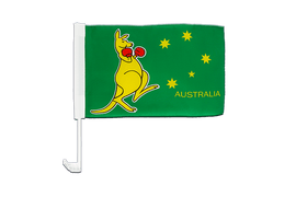 Kangaroo - Car Flag 12x16""