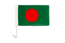 Bangladesh - Car Flag 12x16""