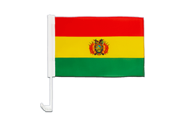 Bolivia - Car Flag 12x16""