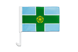 Derbyshire - Car Flag 12x16""