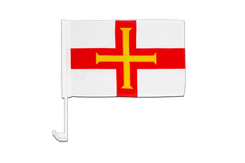 Guernsey - Car Flag 12x16""