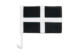 St. Piran Cornwall - Car Flag 12x16""