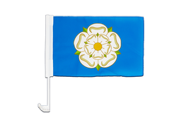 Yorkshire new - Car Flag 12x16""