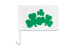 Shamrock - Car Flag 12x16""