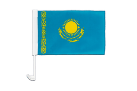 Kazakhstan - Car Flag 12x16""
