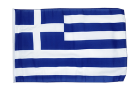 Small Greece Flag - 12x18""