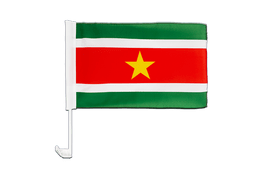 Suriname - Car Flag 12x16""
