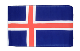 Iceland - 12x18 in Flag