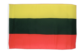Lithuania - 12x18 in Flag