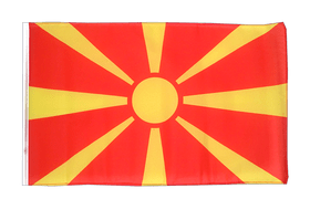 Macedonia - 12x18 in Flag