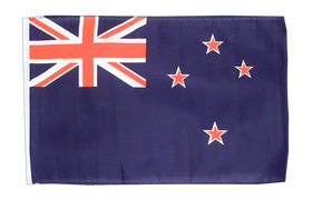Small Flag New Zealand - 12x18""