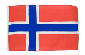 Small Norway Flag - 12x18""