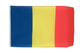 Rumania - 12x18 in Flag