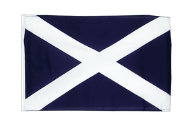 Scotland navy - 12x18 in Flag