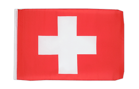 Small Switzerland Flag - 12x18""