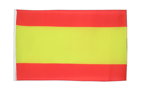 Small Spain without crest Flag - 12x18""