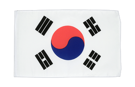 South Korea - 12x18 in Flag
